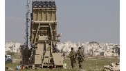 Iron Dome Missile Battery